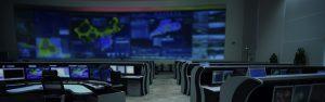 Modern control room.